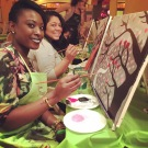 Paint night with my girls