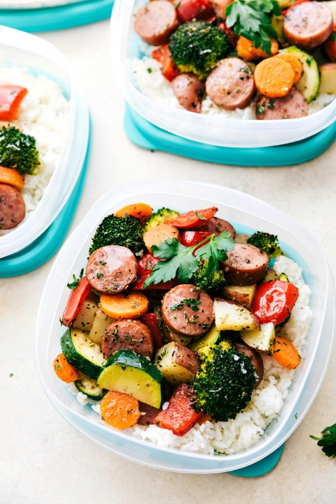 Deliciously-Italian-seasoned-veggies-and-sausage-all-made-in-one-pan